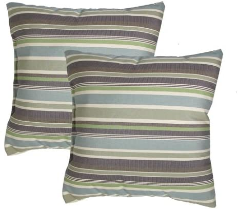urbandesignfurnishings.com Made in USA Sunbrella Brannon Whisper Outdoor 17X17 Throw Accent Pillow 2 Pack