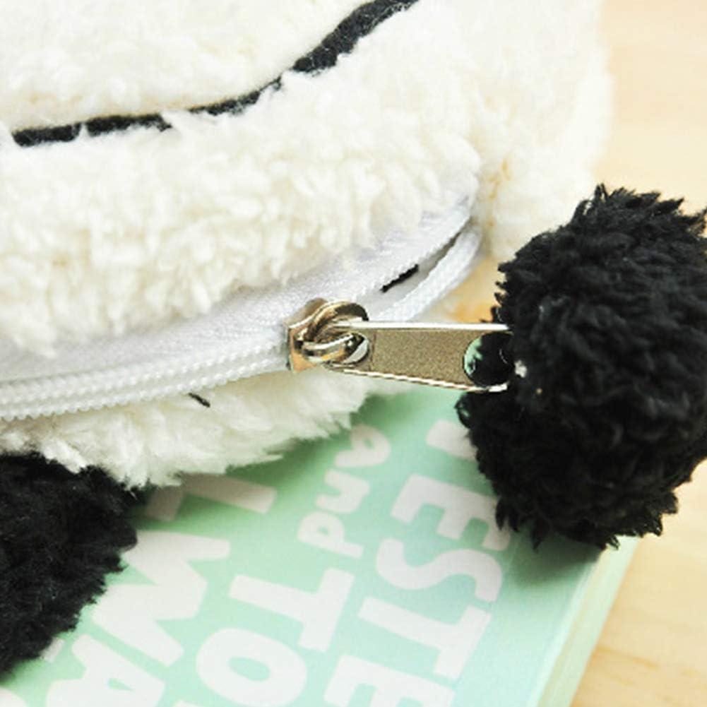 Trousse /à crayons mignonne H Porte-sac /à stylo /à fermeture /à glissi/ère grand panda fabrique un sac /à cosm/étiques Sac de poche Stantionery pour /écoliers