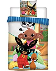 Bing Sängkläder i bomull, påslakan 155 x 200 cm och örngott 50 x 80 cm