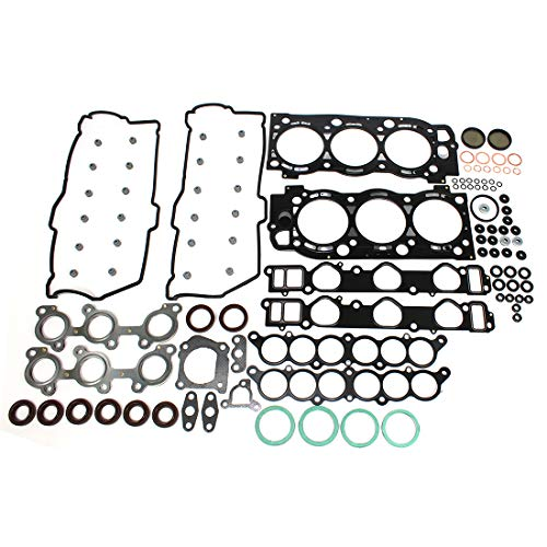 Toyota 4runner Set - DNJ HGS965 MLS Head Gasket Set for 1995-2004 / Toyota / 4Runner, T100, Tacoma, Tundra / 3.4L / DOHC / V6 / 24V / 3378cc / 5VZFE