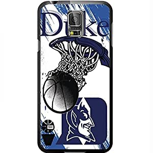 Duke Blue Devils Blue College Basketball Sports Hard Snap on Phone Case (Galaxy s5 V)
