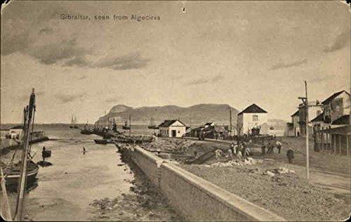 Amazon.com: Gibraltar, seen from Algeciras Gibraltar ...