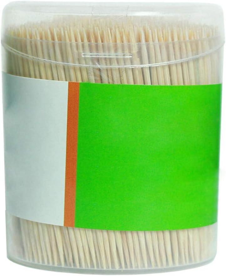 100/% tout Naturel en bois rond cure-dents Bois cure-dents 6,6/cm Longueur 4/Lot de 500/CT