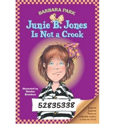 Junie B. Jones is Not a Crook(Paperback) - 1997 Edition