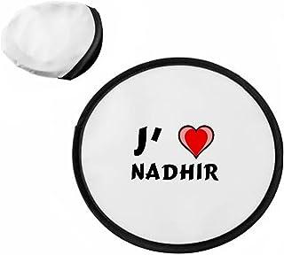 Frisbee personnalisé avec nom: Nadhir (Noms/Prénoms) SHOPZEUS