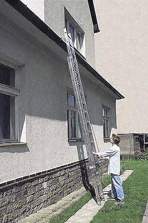 Escalera corredera 2 planos lateral de aluminio con cuerda: Amazon.es: Bricolaje y herramientas