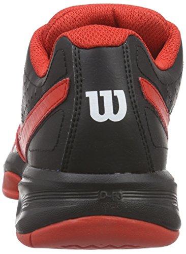 Wilson Wilson Tennis Auki Kengät Valkoinen musta 0 Miesten Kiire Monivärinen Punainen Wilson 2 HqxSAz