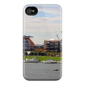 Durable Cases For The Iphone 4/4s- Eco-friendly Retail Packaging(pittsburgh Steelers)