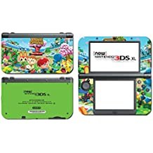 Animal Crossing Special Edition New Leaf City Folk Wild World Villager Video Game Vinyl Decal Skin Sticker Cover for the New Nintendo 3DS XL LL 2015 System Console