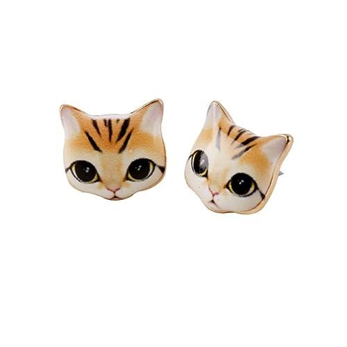 URBAN SHe° linda resina jengibre gato cabeza espárragos ...