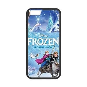 iPhone 6 Plus 5.5 Inch Cell Phone Case Black Frozen Y3400051
