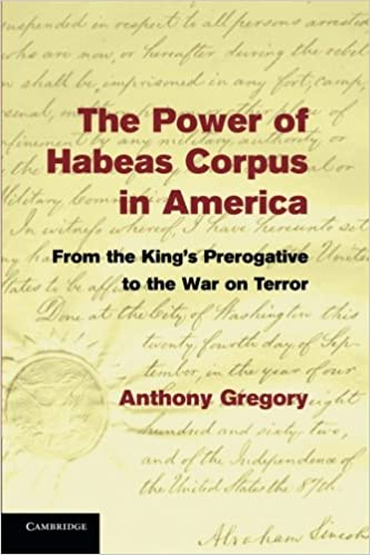 The Power of Habeas Corpus in America: From the King's
