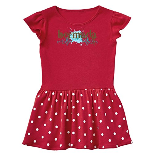 inktastic - Bermuda Toddler Dress 2T Red with Polka Dots c61d ()