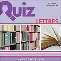 Quiz lettres par Stéphanie Bouvet