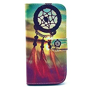 Noarks ® HTC One M8 Case - Premium Wallet PU Leather Case Flip Cover Case With Credit Card Slot For HTC One M8 2014 Release (Aeolian Bell)