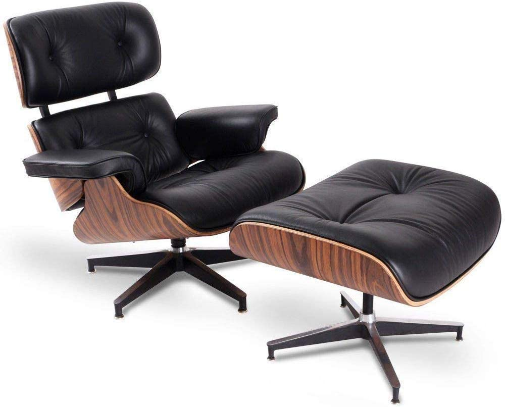 Eames Lounge Stoel Replica.Amazon Com Modern Sources Mid Century Recliner Lounge Chair