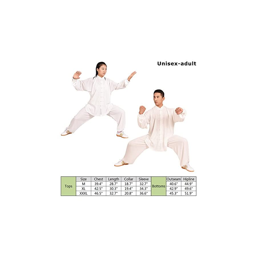 MYS Chinese Traditional Martial Arts Garment Tai Chi Suit Unisex Casual Dresses Cotton Mixed Silk for Morning Exercise