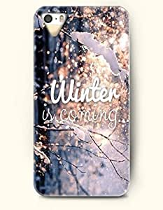 OOFIT iPhone 5 5s Case - Snowing Winter Is Coming