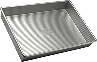 product image for USA Pan Bakeware Rectangular Cake Pan, 9 x 13 inch, Nonstick & Quick Release Coating, Made in the USA from Aluminized Steel