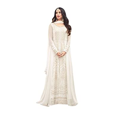 b02afce4e7 Amazon.com: Bollywood Heavy Work Bridal Anarkali Salwar kameez Suit Muslim  Wedding Custom to Measure Eid Indian 2512: Clothing