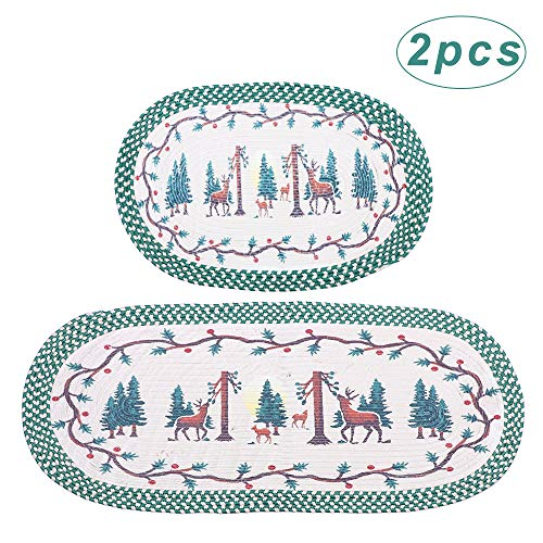 christmas kitchen rugs and mats buyer's guide for 2020