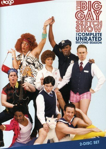 The Big Gay Sketch Show: The Complete Unrated Second Season Paolo Andino Erica Ash Colman Domingo Julie Goldman