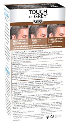 JUST FOR MEN Touch of Grey - Tratamiento colorante gradual - Tinte ...