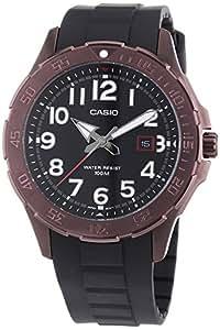 Casio MTD-1073-1A2VEF - Reloj analógico de cuarzo para hombre con correa de resina, color negro