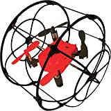 Odyssey Toys Turbo Runner NX Climbing & Rolling Quadcopter Black & Red by Odyssey