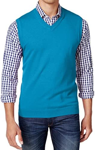 Club Room Men`s Heartland V-Neck Sweater Vest