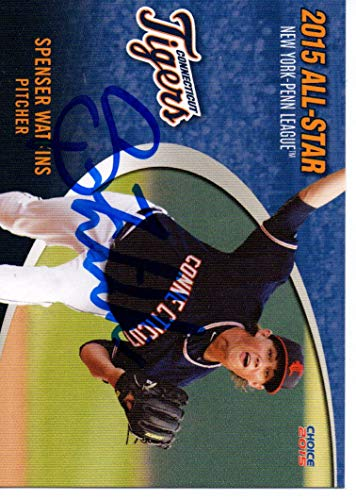- Spenser Watkins 2015 Connecticut Tigers New York Penn All Star Game Signed Card