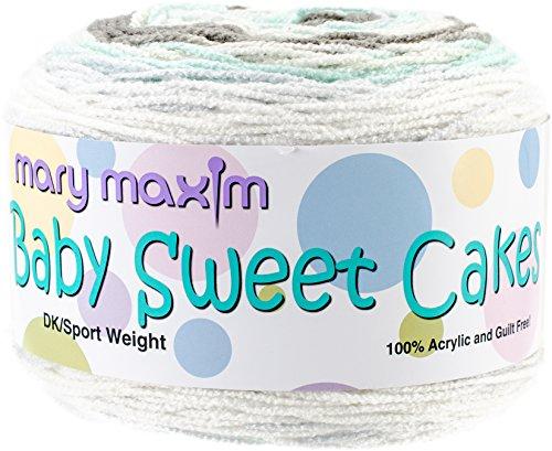 Baby Cakes Sweet (Mary Maxim Lullaby Baby Sweet Cakes Yarn)