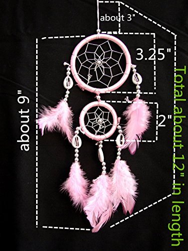 Amazon Dream Catcher With Featherslpink With A Betterdecor Fascinating Can Dream Catchers Cause Nightmares