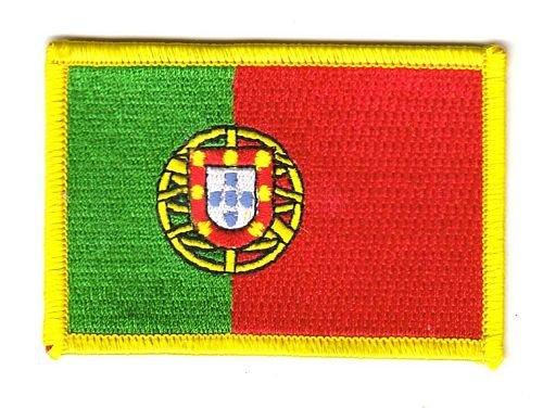 Flaggen Aufn/äher Patch Portugal Flagge Fahne NEU