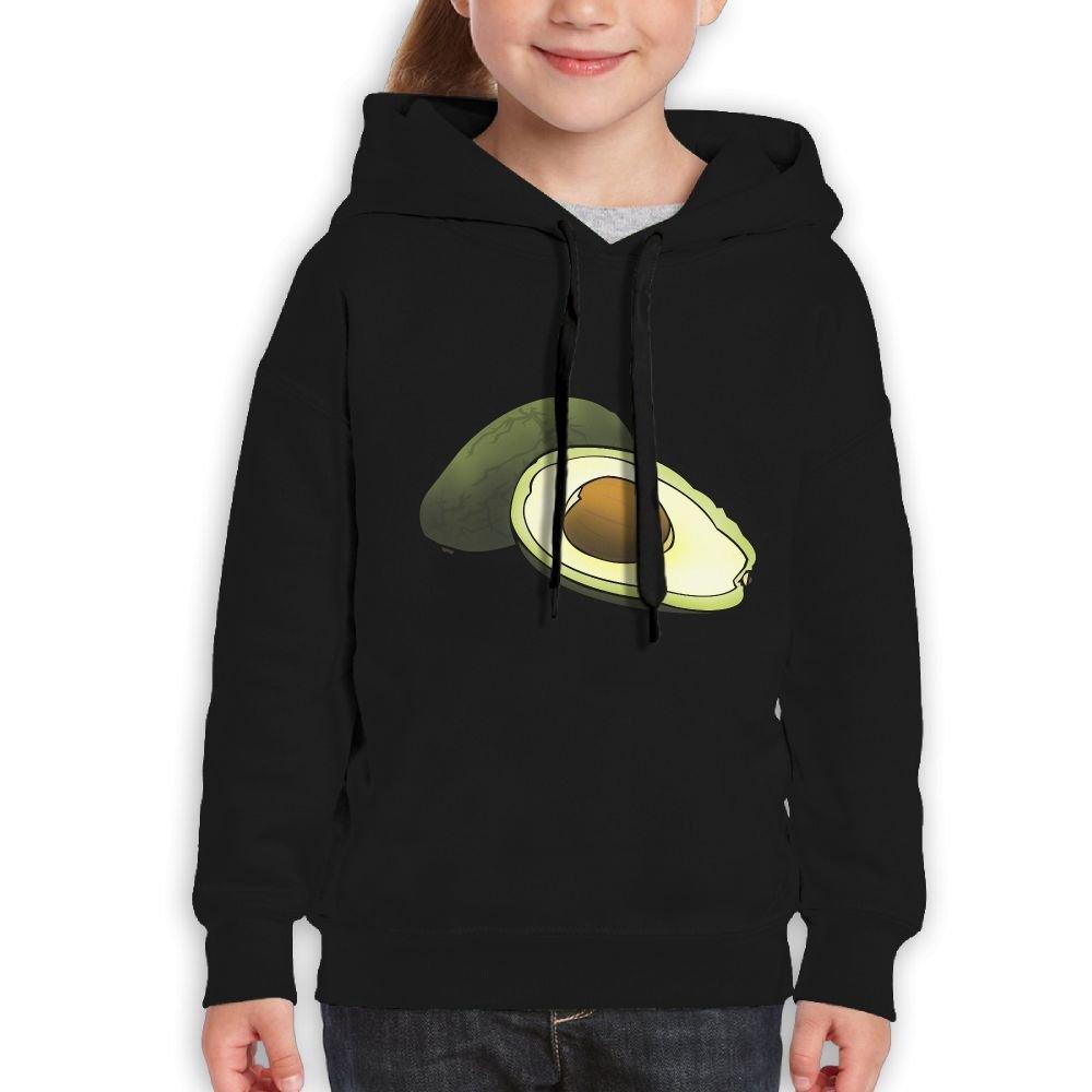 GLSEY Avocado Healthy Food Youth Soft Casual Long-Sleeved Hoodies Sweatshirts