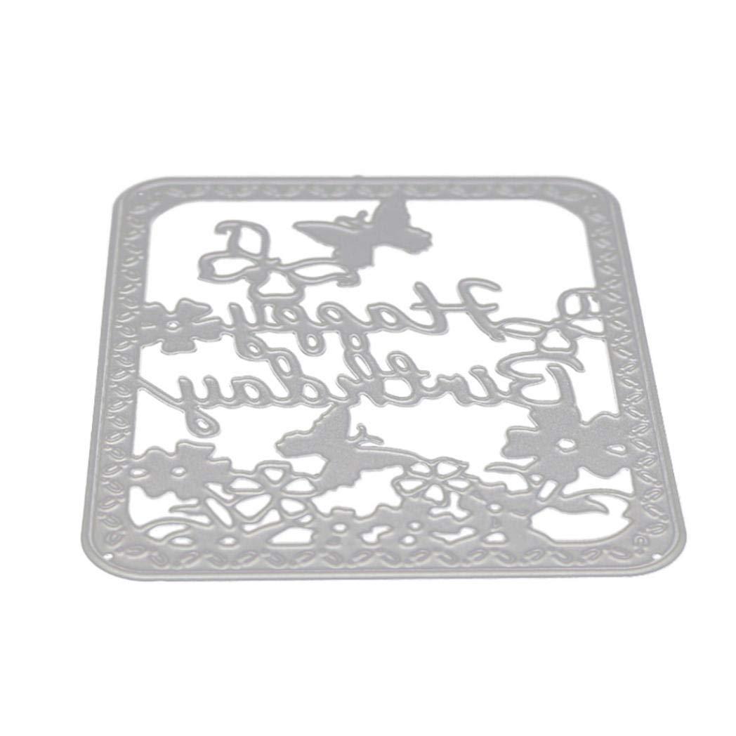 Dies for Card Making,New Flower Heart Metal Cutting Dies Stencils DIY Scrapbooking Album Paper Card by OYSOHE #903
