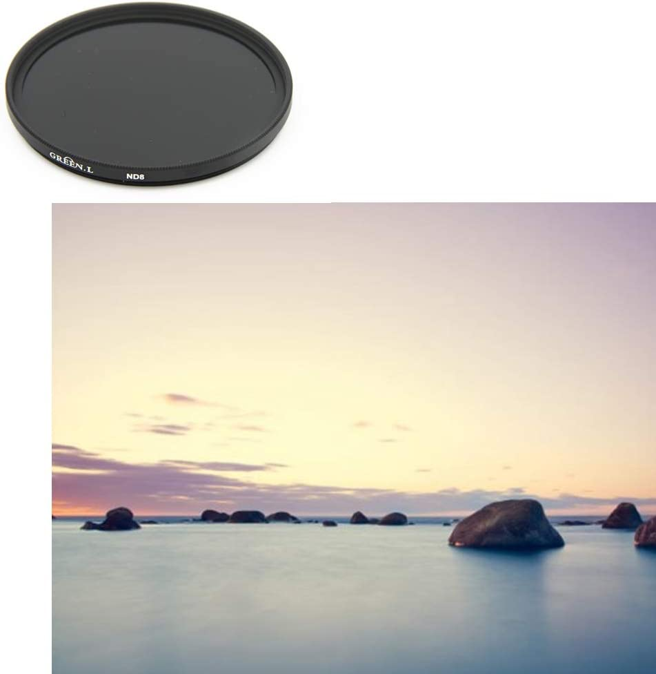 +Rotating 6 Points Star Filter +Graduated Grey Filter +4 +ND Neutral Density Filters ND8 GREEN.L 77mm Close-up Filters Filter Kit for 77mm Digital Camera with Filter Pouch ND