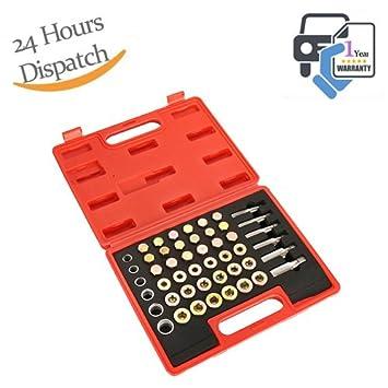 M22 Wonderman Tools 114pc Oil Pan Thread Repair Kit Sump Gearbox Drain Plug M13
