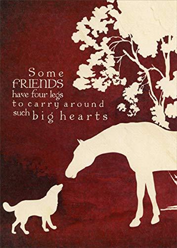 - Four Legged Friends Pet Sympathy Card