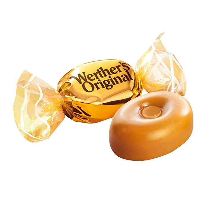 Werthers Original, Caramelo duro - 4 de 380 gr. (Total 1520 gr.): Amazon.es: Alimentación y bebidas
