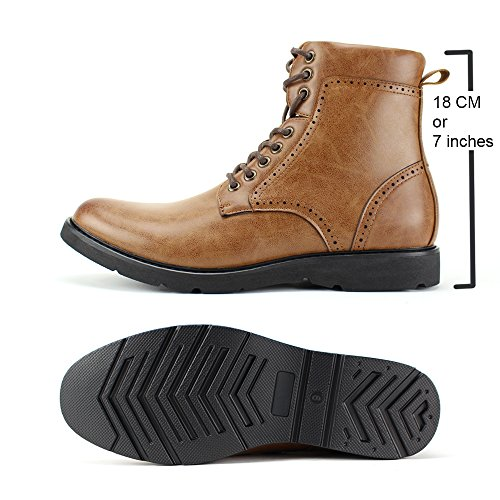 Comfortable Casual Lightweight Tan Boots 6718 718 Style Boots Fashion and 3 4 twXYnOq
