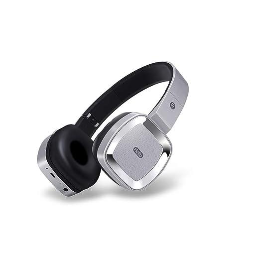 Auriculares con Bluetooth sobre la oreja, Auriculares inalámbricos ...