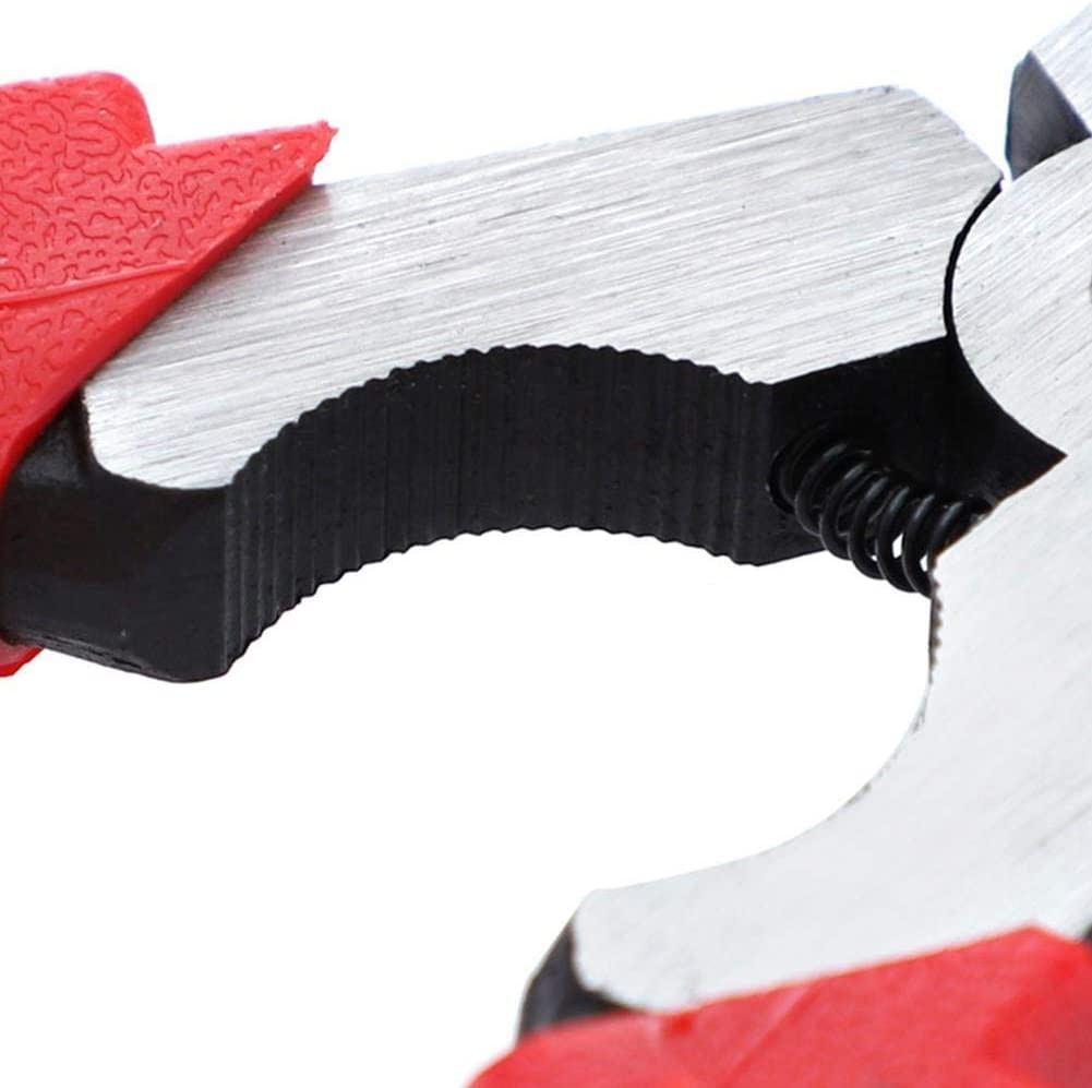 Hilfswerkzeug Spezial-Karten-Schweisszange isolierter Griff 20,3 cm multifunktional MIG-Schwei/ßzange Schwei/ßen