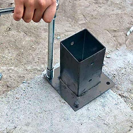 Amazon.com: MTB - Soporte para poste de valla (metal ...