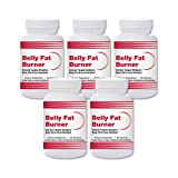 Natural Living Belly Fat Burner – 5 Bottles
