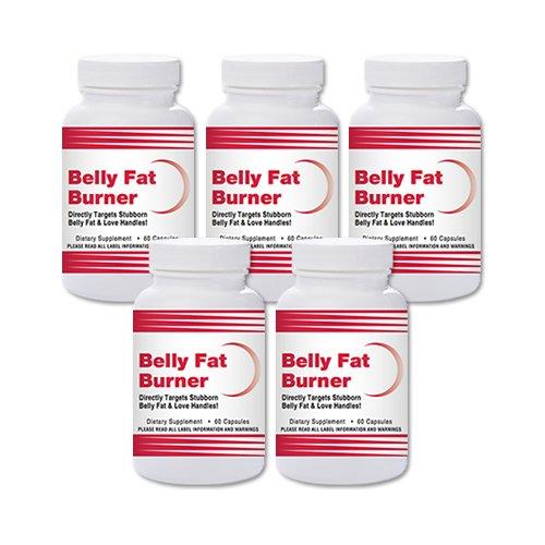 Natural Living Belly Fat Burner – 5 Bottles by Natural Living