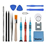 Tools & Hardware : Vastar Repair Tool Kit for iPhone - Screwdriver Set with Magnetizer/ Demagnetizer Tool and Opening Pry Tools for iPhone 7, 7plus, 6Plus /6S /6/5S/5/5C/4S/4/SE, iPod