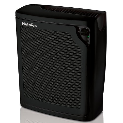 Holmes Products - True HEPA Allergen Remover Air Purifier - Black HAP8650B-U