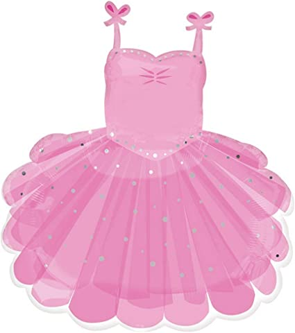 Ballerina Tutu Birthday Party Supplies Balloon Bouquet Select from Age 1 to 9