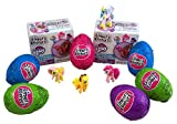 My Little Pony Finders Keepers Chocolate Egg with Surprise Collectible Figurine Included in Box, Pack of 3